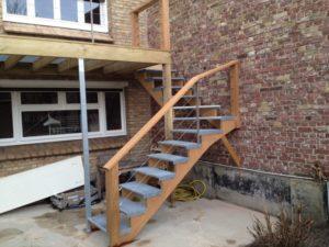 Pose d'escaliers par Guilbert Fréres
